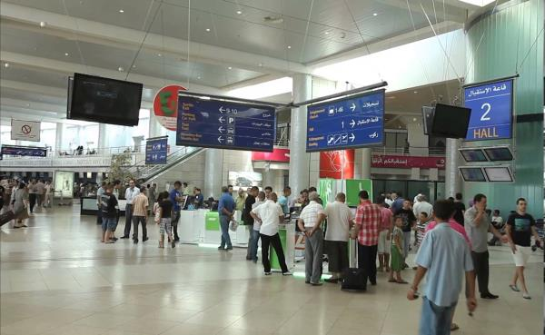 Algeria's Houari Boumediene Airport handles 10 m passengers each year, but the government is building a new terminal to increase capacity 14m.