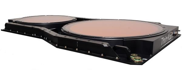 ThinKom's ThinAir Ka2517 phased array antenna system will be used for over-the-air testing on Telesat's LEO satellite over the next few months.