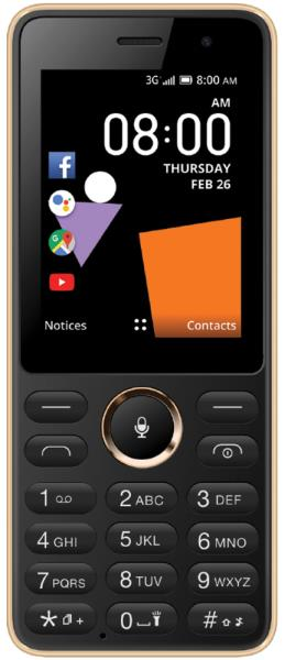 The new smartphone from Orange comes with the UNISOC SC7731EF processor and is powered by the KaiOS operating system.