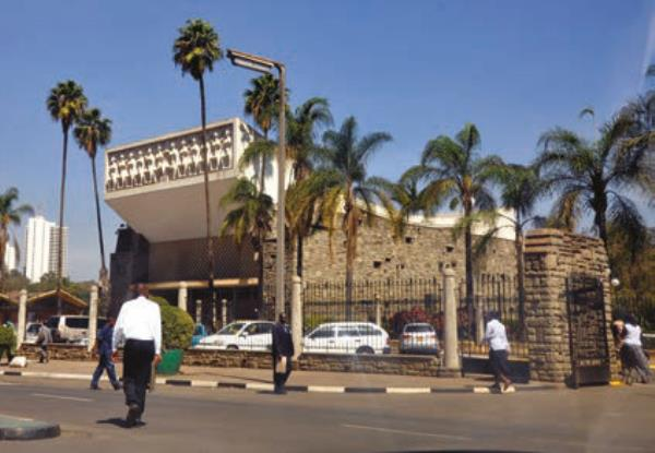 The Kenyan National Assembly took place at the Parliament of Kenya in Nairobi, Kenya