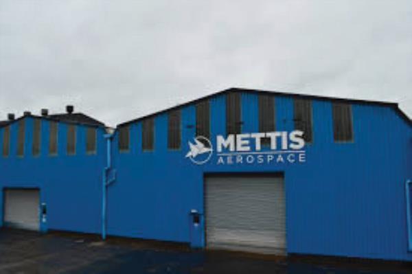 Mettis Aerospace's 27-acre West Midlands facility