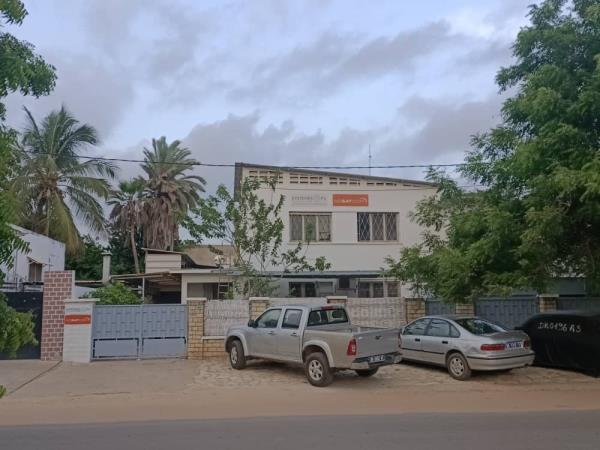 The 'new' premises in Dakar