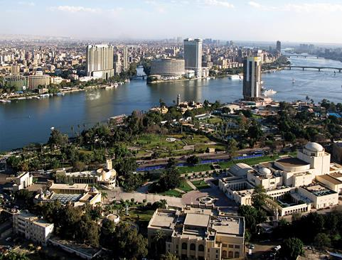 The New Administrative Capital will eventually replace Cairo (pictured) as the capital city of Egypt