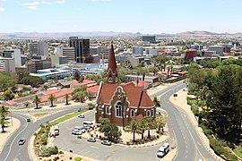 The city of Windhoek