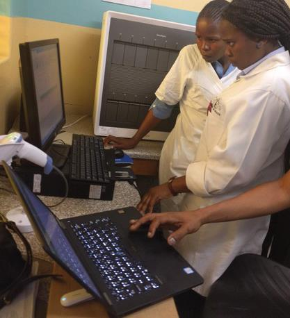 The software enables connected diagnostic data in real time, which helps countries respond more effectively to infectious disease outbreaks