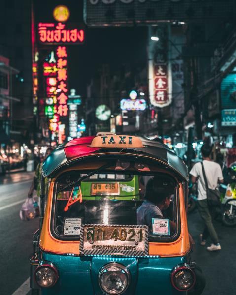 The Thai capital, Bangkok